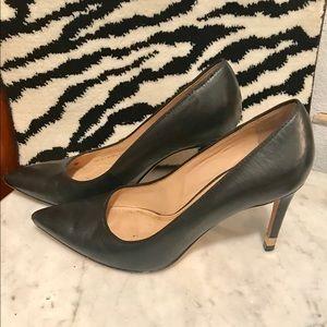 Tory Burch black heels pump pumps